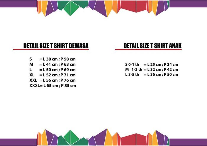 T-shirt Details Specification